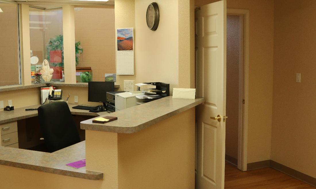 reception area | dentist farmington nm